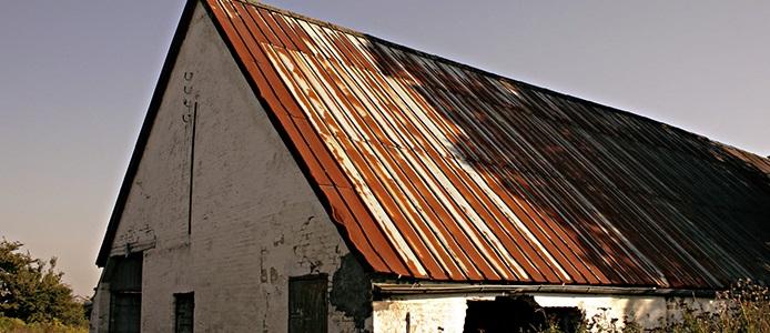 سقف زنگ زده